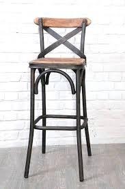 chaise m tal industriel chaise loft chaise bar vintage attachant chaise de bar industriel