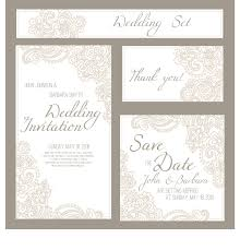 Wedding Invitation Card Free Download Wedding Invitation Card With Banner Vector Vector Banner Vector