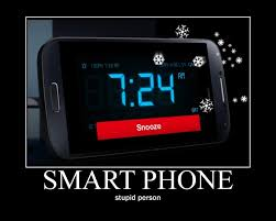 Alarm Clock Meme - some guy thinks that it s a good thing repurpose a smartphone as a