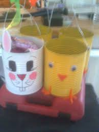 Easter Projects Easter Baskets Made From Value Size Tin Cans 4 Hunter U0026 Connor