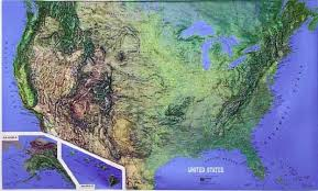 map us landforms the landforms of the united states geography webquest