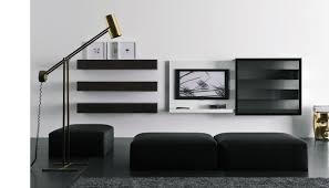 fabulous white living room with cool lcd tv cabinet 851 latest