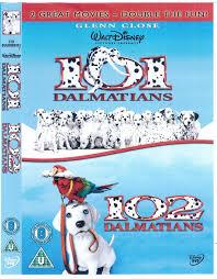 101 dalmatians 102 dalmatians 2 dvd region code 2