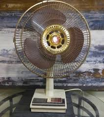12 inch 3 speed oscillating fan vintage scandi super deluxe electric fan gold 3 speed oscillating 12