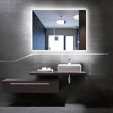 Led Backlit Bathroom Mirror Led Backlit Mirror Illuminated Bathroom Mirror Anti Fog Touch