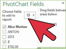 how to set up a pivot table how to create a chart from a pivot table 10 steps with pictures