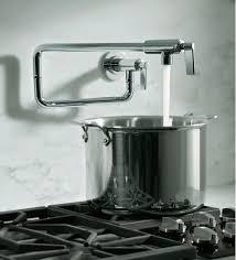 wall mount pot filler kitchen faucet attractive pot filler faucet home design ideas