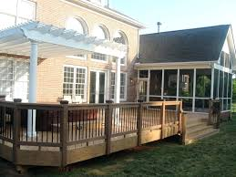 Decorating Screened Porch Patio Ideas Image Of Screened In Porch Pictures Patio And Deck