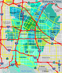 Map Of La County Gateway Cities Los Angeles County U2013 Travel Guide At Wikivoyage