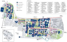 Boston College Campus Map by University Of Manchester Wikipedia