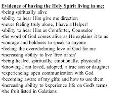 Holy Spirit My Comforter Role Of The Holy Spirit Ppt Online Download