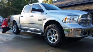 Dodge Ram Cummins Leveling Kit - 35 inch tires on stock 20