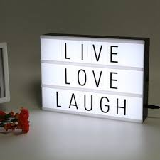 light boxes for sale led usb night light box with a4 letter card diy combination for