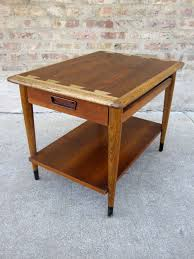 lane acclaim end table circa midcentury lane acclaim end table w drawer