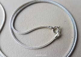silver chain necklace snake images Sterling silver 1mm snake chain necklace 18 inches jpg