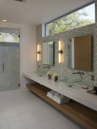 recessed bathroom mirror lighting interiordesignew com