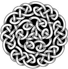 celtic knot shamrock tattoo design idea on paper golfian com