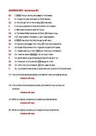 sentence structure simple complex u0026 compound sentences worksheet