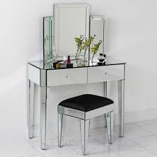 table sweet mirrored dressing table with drawers 14 cute interior
