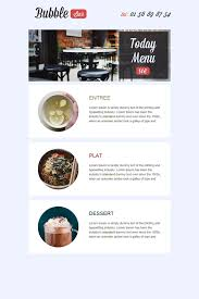 42 free and professional newsletter templates for restaurants bars