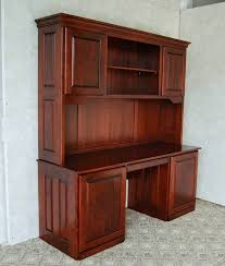 Computer Desk With Hutch Cherry Cherry Desk With Hutch De Vries Woodcrafters