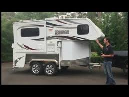 Truck Bed Trailer Camper Trailer Option For Lance Slide On Campers Youtube