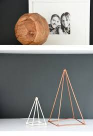 Home Decor Sculptures How To Make Gold Diy Geometric Sculptures For Free Hometalk