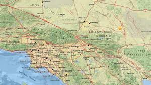 San Bernardino County Map 3 4 Magnitude Earthquake Strikes Near Big Bear Abc7 Com