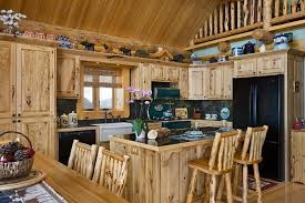 log cabin homes interior cabin kitchen design kitchen amazing log cabin homes interior log