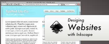 cara membuat website via html designing websites with inkscape tucson labs