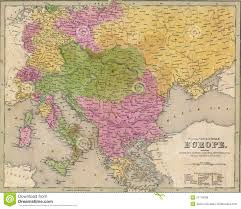 Map Of Southeastern Europe by Antique Map Of Eastern Europe Royalty Free Stock Images Image