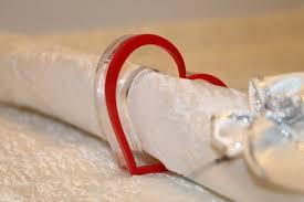 napkin holder ideas heart napkin rings napkin ring holders s day table