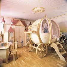 cinderella coach princess bedroom with castle wardrobe