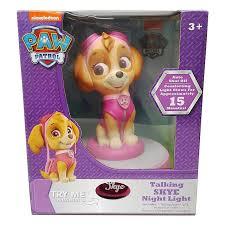 night light sound nickelodeon paw patrol talking skye night light bedside l catch