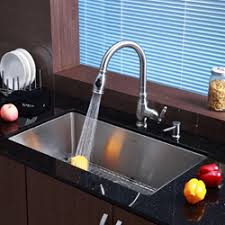 kitchen sink and faucet combo kitchen sink with faucet set high end stainless sinks undermount