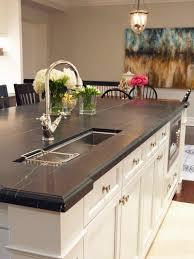 Atlanta Kitchen Tile Backsplashes Ideas Kitchen Black Granite Kitchen Counter Tops With Diagonal Cream