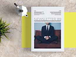 free newsletter template for adobe indesign free indesign templates