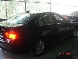 my new car bmw 320d reine freude team bhp