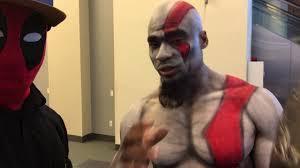 Kratos Halloween Costume Deadpool Interview Kratos God War