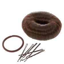 bun maker scunci faux hair bun maker hair styling kit s
