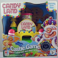 candyland castle hasbro milton bradley candy land castle new in ad 3498642