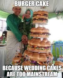 Meme Burger - meme 21 burger cake i m bringing celibacy back