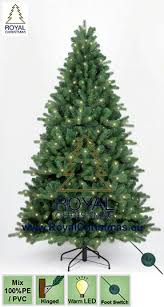 artificial christmas tree bogota 100 pe pvc with warm led