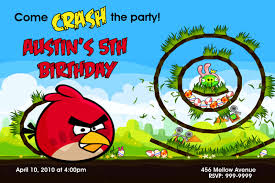 angry bird invitations templates ideas angry birds birthday