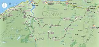 Map Of Wales North Wales Pilgrim Trail Map U2022 David Goodman U2022 Illustration