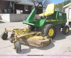 john deere f725 front deck lawn mower item b5477 sold m