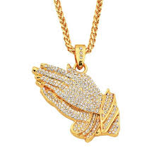 hip hop style necklace images Wholesale men and women hip hop style jewelry golden cz cross jpg