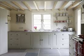 kitchen white country style kitchens table linens refrigerators