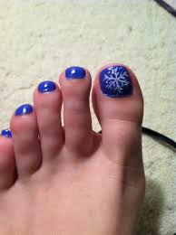 toenail christmas design my style pinterest pedicures toe