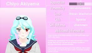 chiyo fanon wiki fandom powered by wikia image chiyo akiyama profile 3 png yandere simulator fanon wikia